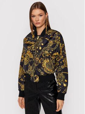 Versace Jeans Couture Versace Jeans Couture Kurtka bomber Print Bijoux Baroque 71HAS408 Czarny Regular Fit