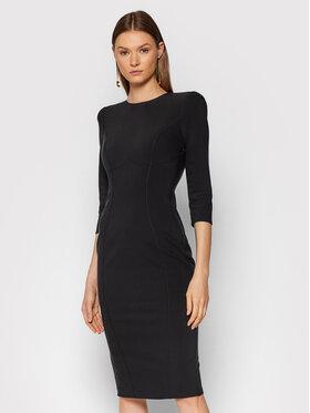 Elisabetta Franchi Elisabetta Franchi Коктейлна рокля AB-018-16E2-V410 Черен Slim Fit