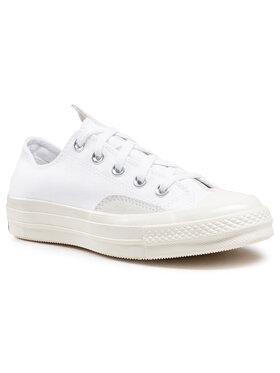 Converse Converse Sneakers aus Stoff Chuck 70 Ox 168673C Weiß