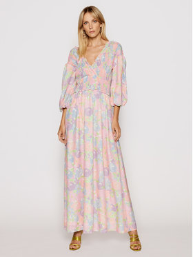 NA-KD NA-KD Ljetna haljina Smocked 1018-006780-0689-581 Šarena Regular Fit