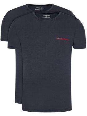 Emporio Armani Underwear Emporio Armani Underwear Set 2 tricouri 111267 0A717 70835 Bleumarin Regular Fit