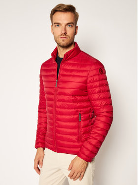 Trussardi Jeans Trussardi Jeans Daunenjacke Matt 52S00515 Rot Regular Fit