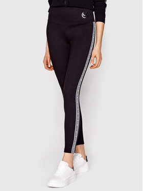 MICHAEL Michael Kors MICHAEL Michael Kors Leggings Stripe Tape MS1300L1BA Nero Slim Fit