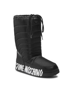 LOVE MOSCHINO LOVE MOSCHINO Čizme za snijeg JA24132G1DISK000 Crna