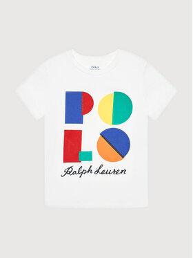 Polo Ralph Lauren Polo Ralph Lauren T-Shirt Ss Cn 322844818001 Biały Regular Fit