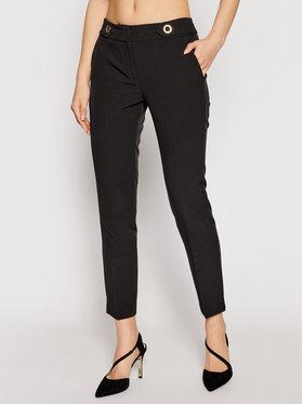 Trussardi Trussardi Kalhoty z materiálu 56P00283 Černá Regular Fit