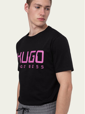 Hugo Hugo Tricou Dolive203 50430758 Negru Regular Fit