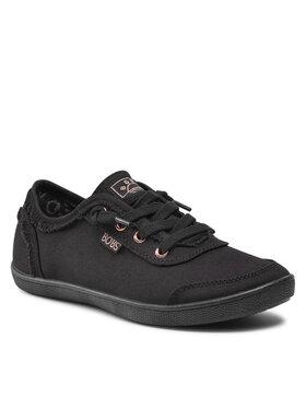 Skechers Skechers Πάνινα παπούτσια Bobs B Cute 33492/BBK Μαύρο
