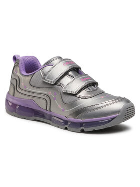 Geox Geox Sneakersy J Android G. B J0445B 000NF C1400 DD Strieborná