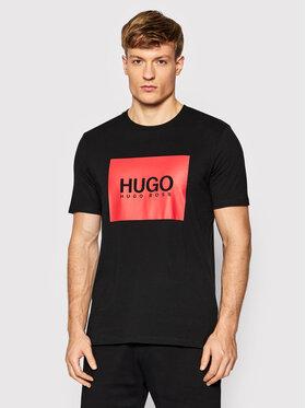 Hugo Hugo T-shirt Dolive214 50456378 Noir Regular Fit