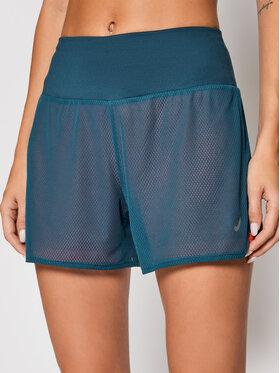 Asics Asics Pantaloni scurți sport Ventilate 2-N-1 2012A772 Verde Regular Fit