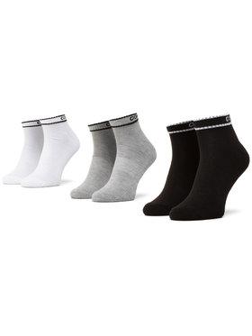 Converse Converse 3 pár hosszú szárú férfi zokni E943A-3020 Fekete