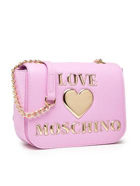 LOVE MOSCHINO LOVE MOSCHINO Дамска чанта JC4052PP1DLF0607 Розов