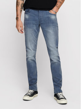 Only & Sons ONLY & SONS Farmer Loom 22013627 Kék Slim Fit