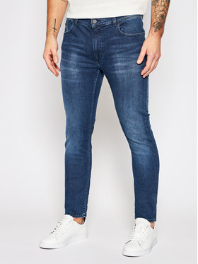 KARL LAGERFELD KARL LAGERFELD Slim Fit Jeans Pocket Slim 265801 502835 Dunkelblau Slim Fit