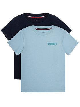 TOMMY HILFIGER TOMMY HILFIGER Σετ 2 T-Shirts Cn Tee Ss Logo UB0UB00331 Έγχρωμο Regular Fit