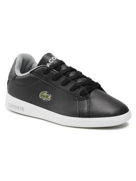 Lacoste Lacoste Sneakersy Graduate 0721 1 Suc 7-41SUC0006231 Čierna