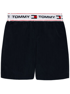 Tommy Hilfiger Tommy Hilfiger Plavecké šortky UB0UB00353 Tmavomodrá Regular Fit