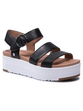 Ugg Ugg Sandále W Leedah 1120052 Čierna