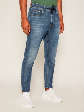Pepe Jeans Pepe Jeans Jeansy Regular Fit Johnson PM204385 Blu scuro Relaxed Fit