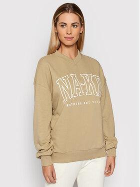 NA-KD NA-KD Sweatshirt 1100-004348-1130-003 Vert Relaxed Fit