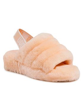Ugg Ugg Papuče W Fluff Yeah Slide 1095119 Oranžová