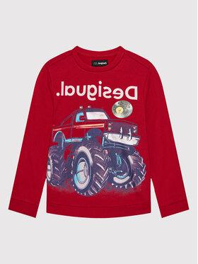 Desigual Desigual Bluza Abeto 21WBSK01 Czerwony Regular Fit