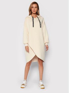 TWINSET TWINSET Úpletové šaty 212LL2CHH Béžová Regular Fit