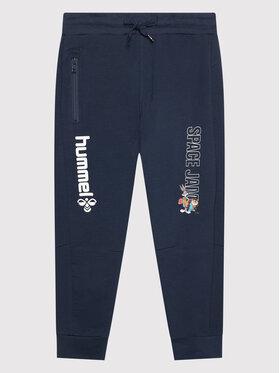 Hummel Hummel Pantaloni da tuta SPACE JAM On 215874 Blu scuro Regular Fit