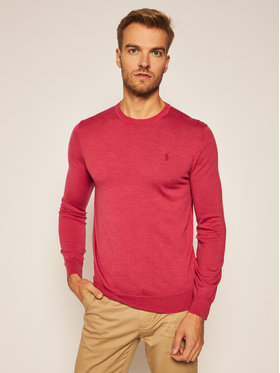 Polo Ralph Lauren Polo Ralph Lauren Пуловер Ls Sf Cn Pp 710714346026 Розов Slim Fit