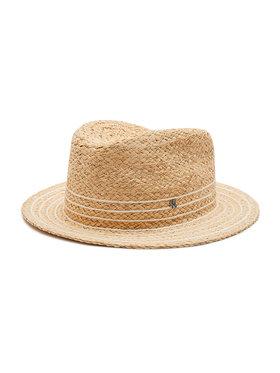 Lauren Ralph Lauren Lauren Ralph Lauren Kapelusz Rffia Fedora-Hat 454838513001 Beżowy