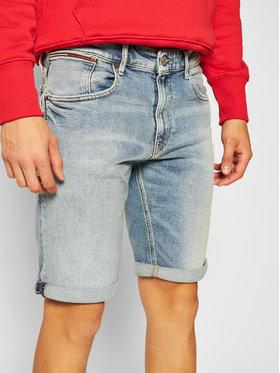 Tommy Jeans Tommy Jeans Džínsové šortky Ronnie DM0DM08287 Modrá Relaxed Fit
