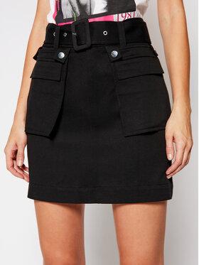 Guess Guess Φούστα mini Randi W1RD71 WDOK0 Μαύρο Regular Fit