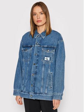 Calvin Klein Jeans Calvin Klein Jeans Джинсова куртка J20J217095 Голубий Oversize