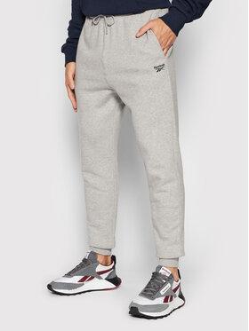Reebok Reebok Spodnie dresowe Fleece GS1600 Szary Regular Fit