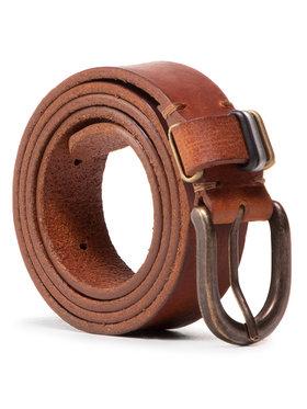 Wrangler Wrangler Damengürtel Loop Detail W0G9U1X81 Braun
