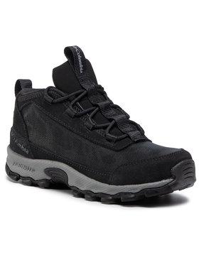 Columbia Columbia Trekingová obuv Youth Flow Borough BY0129 Černá
