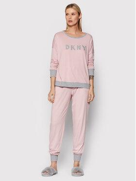 DKNY DKNY Pyžamo YI2919259 Ružová