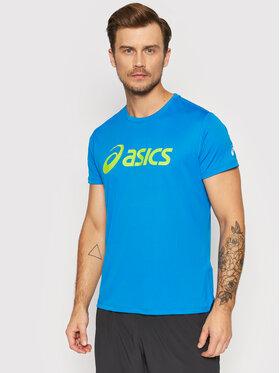 Asics Asics Тениска от техническо трико Silver 2011A474 Син Regular Fit