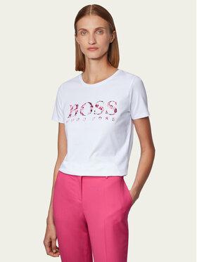 Boss Boss T-shirt Tiboss 2 50441517 Bianco Regular Fit