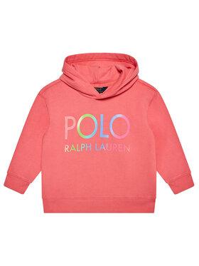 Polo Ralph Lauren Polo Ralph Lauren Majica dugih rukava Ls Hoddie 312841397001 Ružičasta Regular Fit