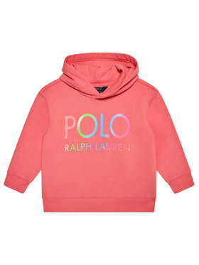 Polo Ralph Lauren Polo Ralph Lauren Μπλούζα Ls Hoddie 312841397001 Ροζ Regular Fit