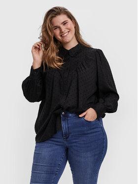 Vero Moda Curve Vero Moda Curve Košeľa Nanna 10251637 Čierna Loose Fit