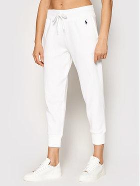Polo Ralph Lauren Polo Ralph Lauren Spodnie dresowe Akl 211794397002 Biały Regular Fit