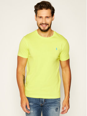 Polo Ralph Lauren Polo Ralph Lauren T-Shirt Classics 710671438162 Žlutá Slim Fit