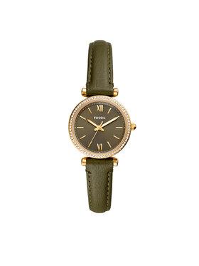 Fossil Fossil Ρολόι Carlie Mini ES5113 Πράσινο