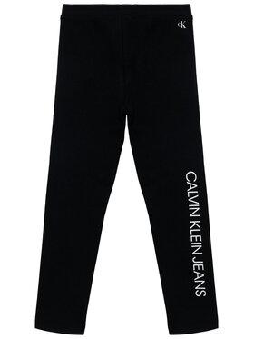 Calvin Klein Jeans Calvin Klein Jeans Legginsy Logo IG0IG00740 Czarny Slim Fit