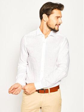 Strellson Strellson Marškiniai Sereno 30020164 Balta Slim Fit
