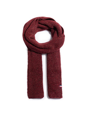 Tommy Hilfiger Tommy Hilfiger Szal Th Effortless Scarf AW0AW09051 Bordowy