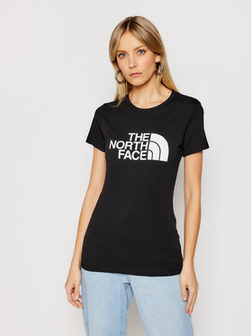 The North Face The North Face Marškinėliai Easy NF0A4T1QJK31 Juoda Regular Fit